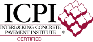 Interlocking Concrete Pavement Institute certified stamp