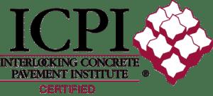 Interlocking Concrete Pavement Institute certified stamp