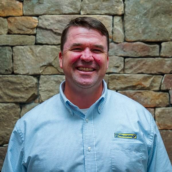 Aaron Williams, founder and owner of landscaper Williams