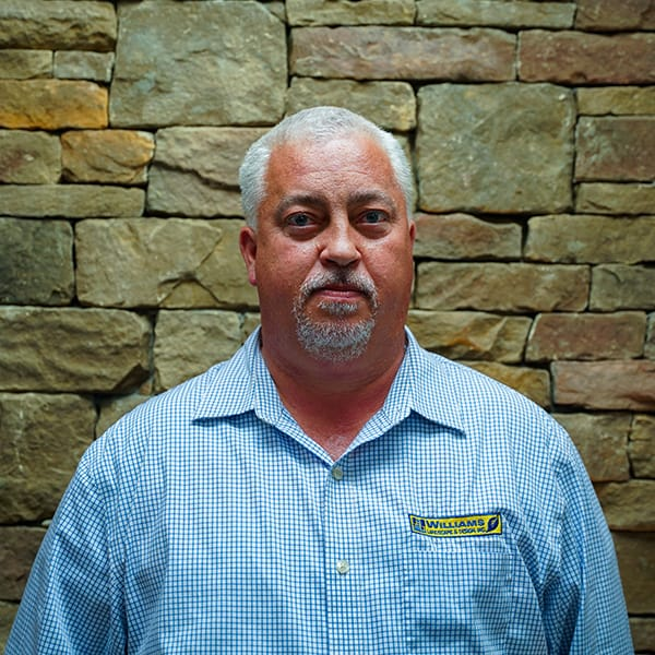 Cameron Long, maintenance account manager for landscaper Williams