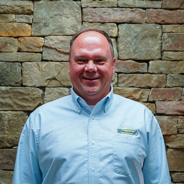 Chris Basic, landscape designer for landscaping contractor Williams