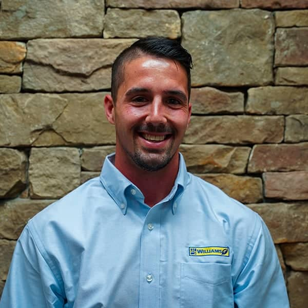 Richard Scruggs, design build operations manager for landscaping contractor Williams