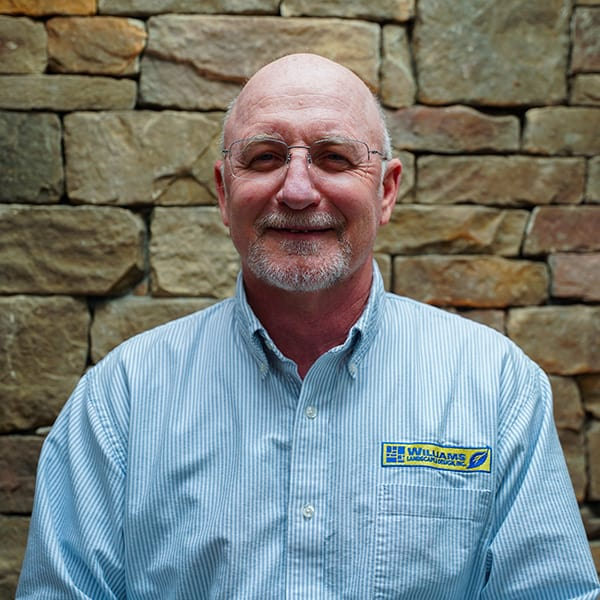 Greg Wetzel, commercial account manager for landscaping contractor Williams