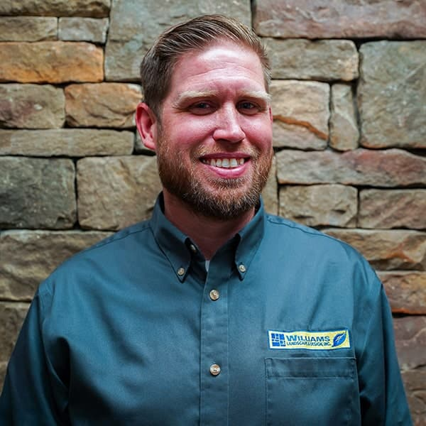 Jon Leach, residential maintenance account manager for landscaping contractor Williams